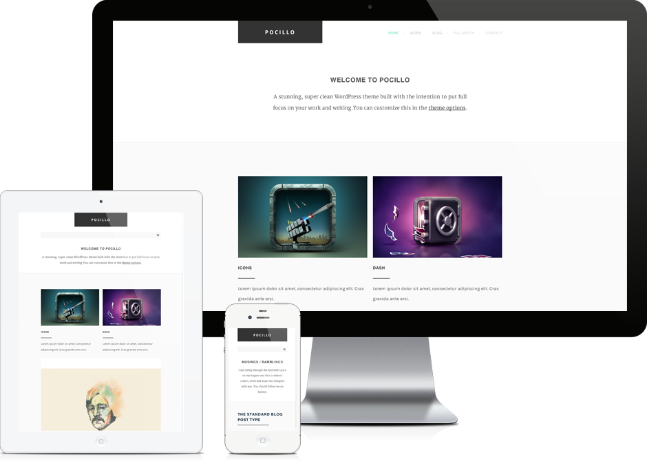 Pocillo - WordPress Theme
