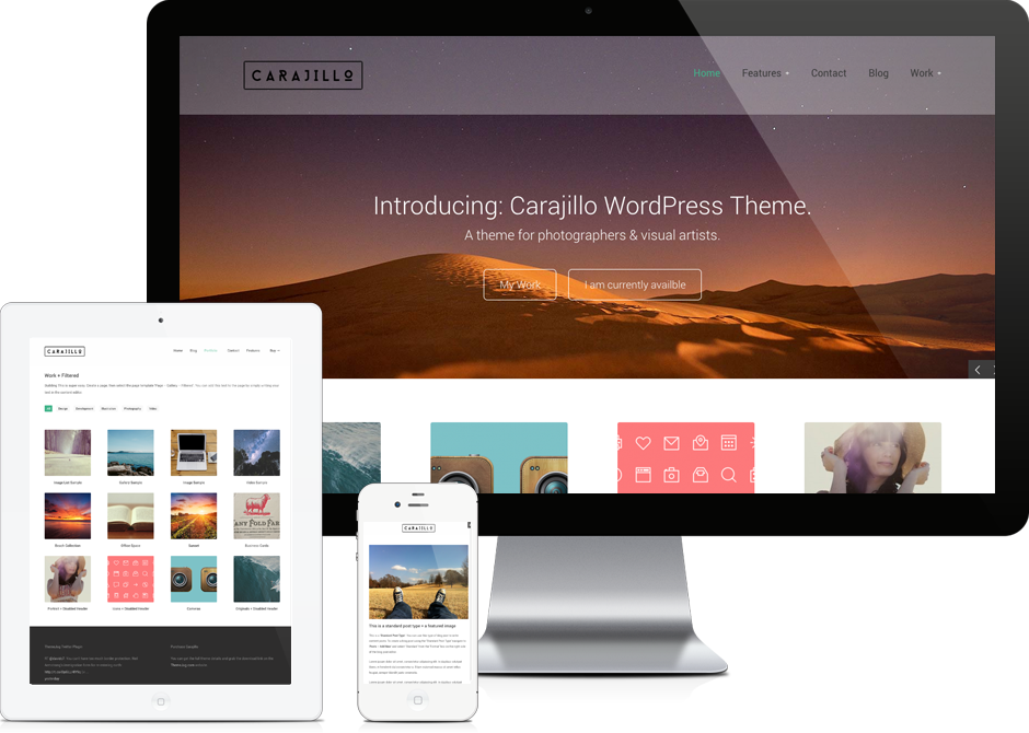 Carajillo - WordPress Theme