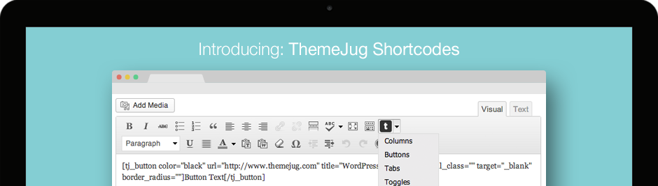 ThemeJug Shortcodes Plugin