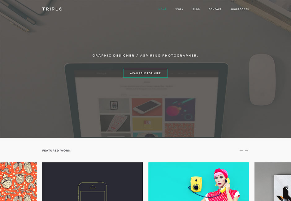 View Our Latest WordPress Themes